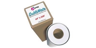 SubliMate <br> DYE SUBLIMATION PAPER <br> 44